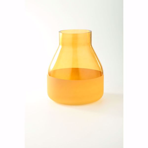 Picture of Yellow Glass Jar