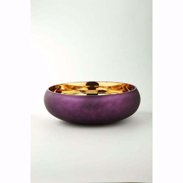 Picture of Plum Glass Bowl