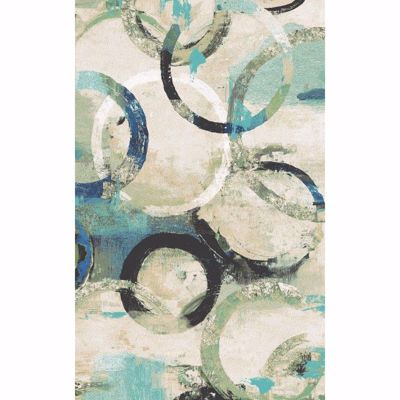 Picture of Aquarelle Rings 5x7 Rug