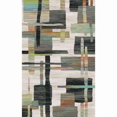 Picture of Ximena Squares and Lines 5x7 Rug