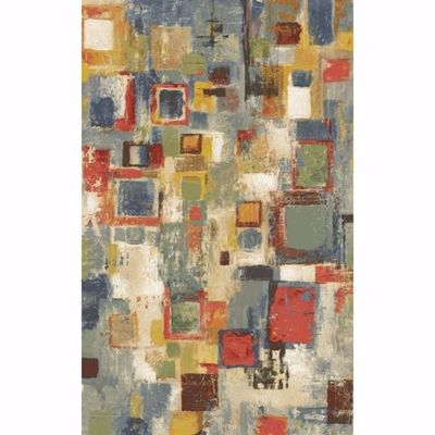 Picture of Complexity Colorful Squares 5x7 Rug
