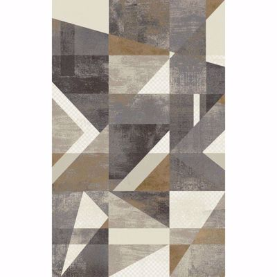 Picture of Framework Beige Grey 5x7 Rug