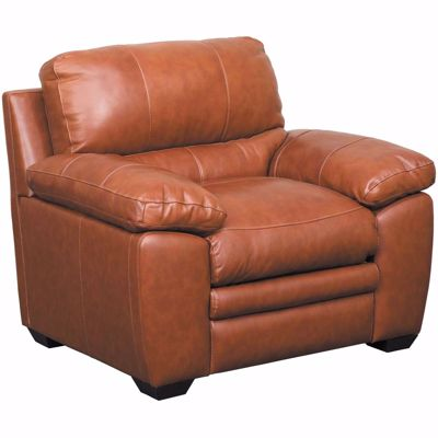 Picture of Logan Tobacco Brown Leather Chair