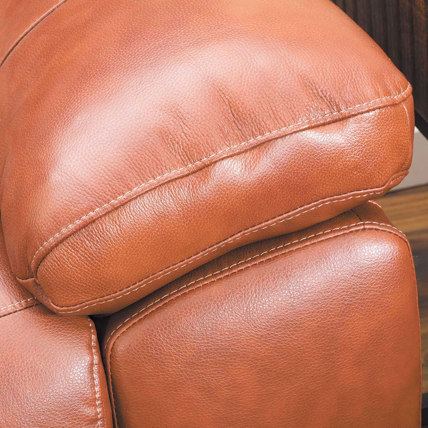 Picture of Logan Tobacco Brown Leather Sofa