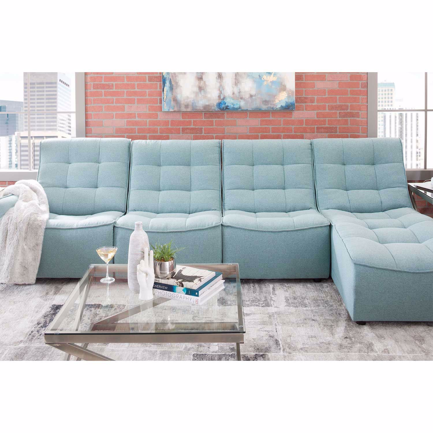 Picture of Lagoon 4 Piece RAF Power Reclining Sectional
