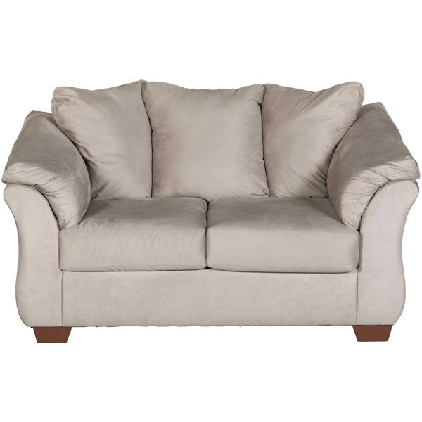 Picture of Darcy Cobblestone Loveseat