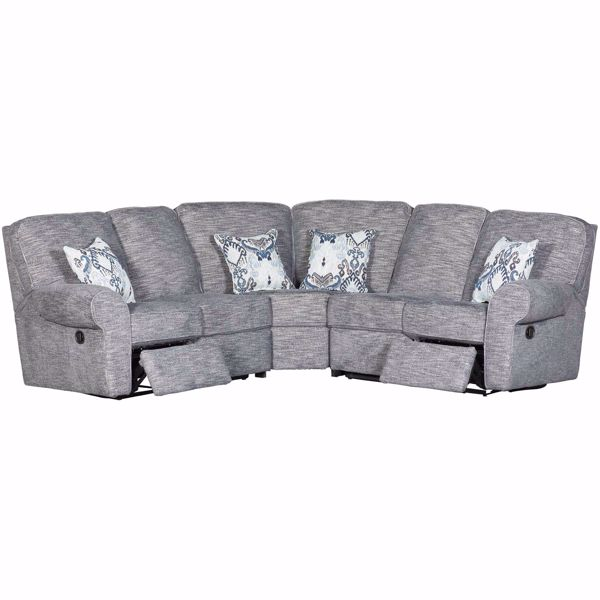Picture of 3pc Reclining Sectional