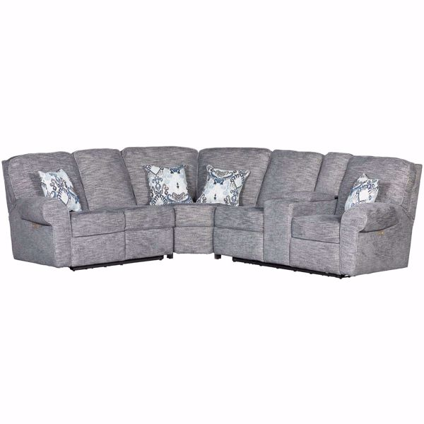 Picture of 3pc Power Reclining Sectional w/ LAF Loveseat