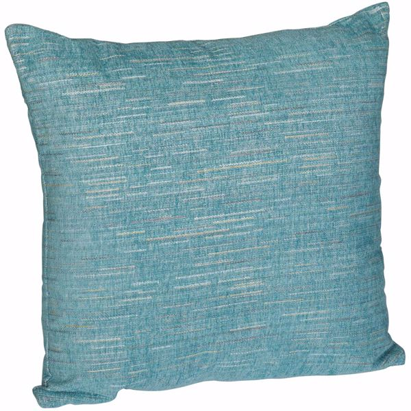 Picture of Teal That 70s Chenille 18 Inch Decorative Pillow *P