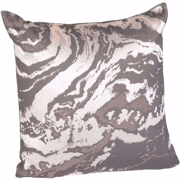 Picture of Gray Marble 16 Inch Pillow *P