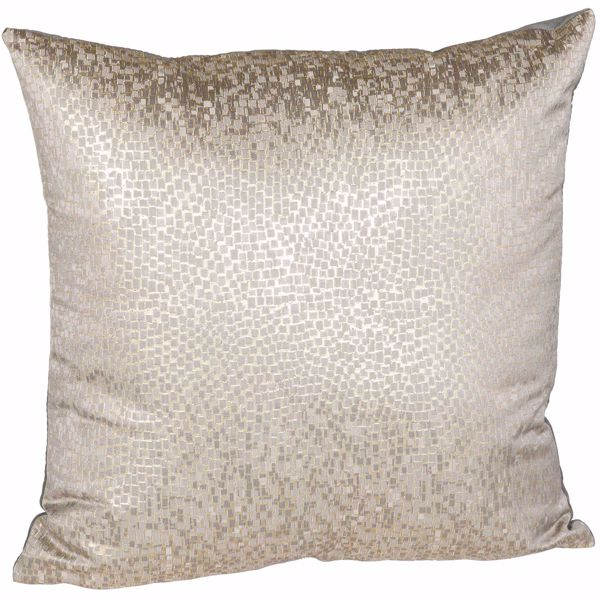 Picture of Gray Gold Reptilian Scales 16 Inch Pillow *P
