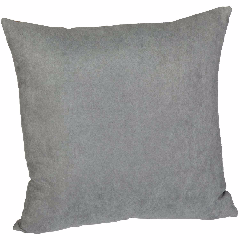 Picture of Gray Gold Reptilian Scales 16 Inch Decorative Pillow *P