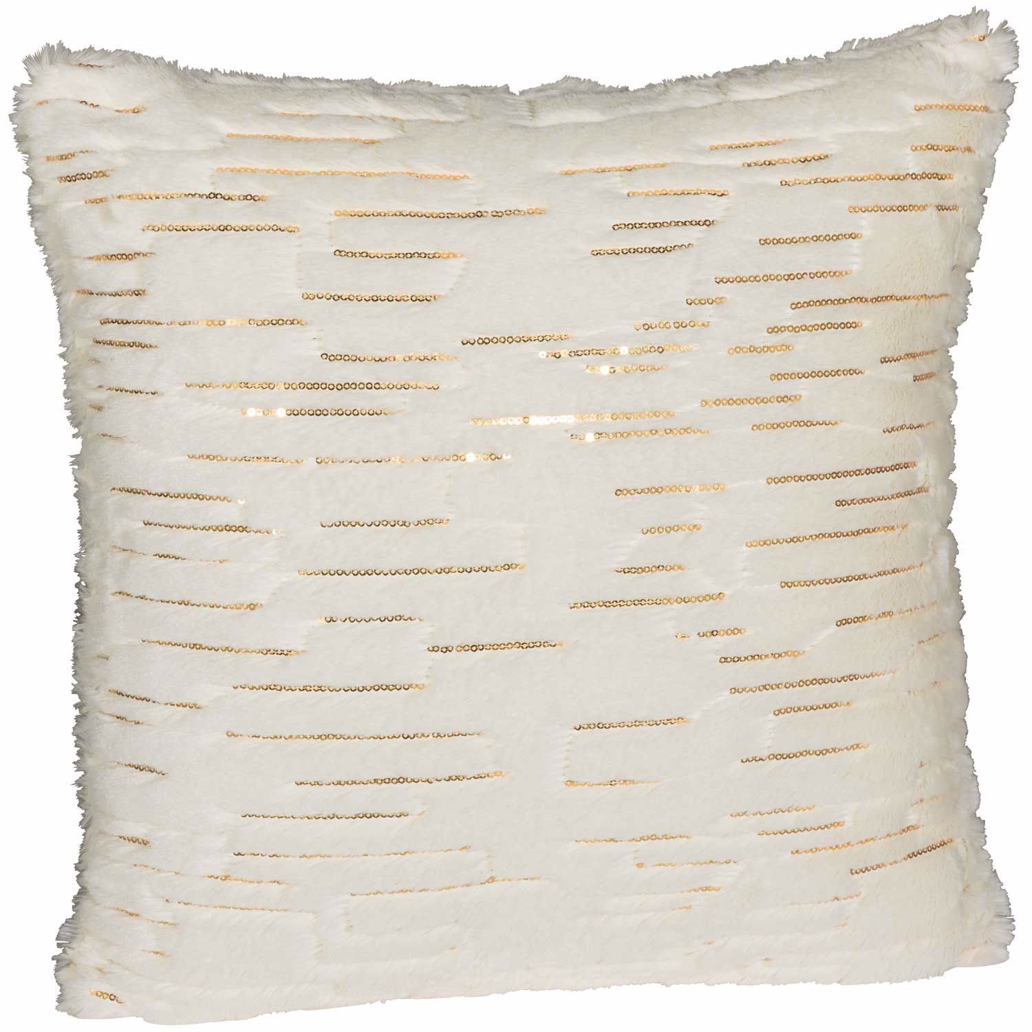 Picture of Bring In The New Year Cream 18 Inch Decorative Pillow *P
