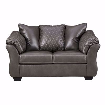 Picture of Betrillo Gray Loveseat