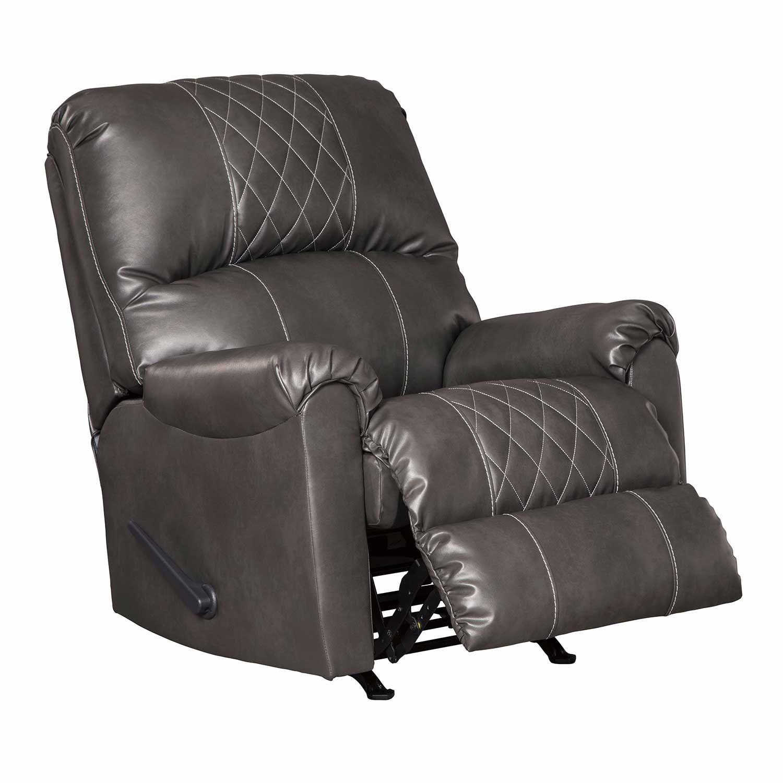 Ashley Furniture Betrillo Gray: Betrillo Gray Rocker Recliner 4050325