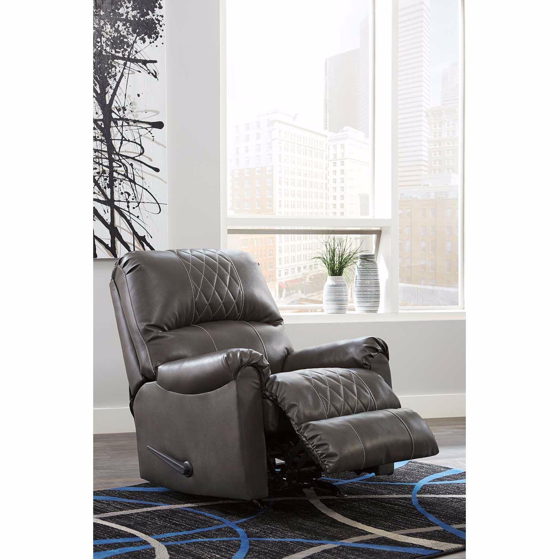 Ashley Furniture Betrillo Gray: Betrillo Gray Rocker Recliner
