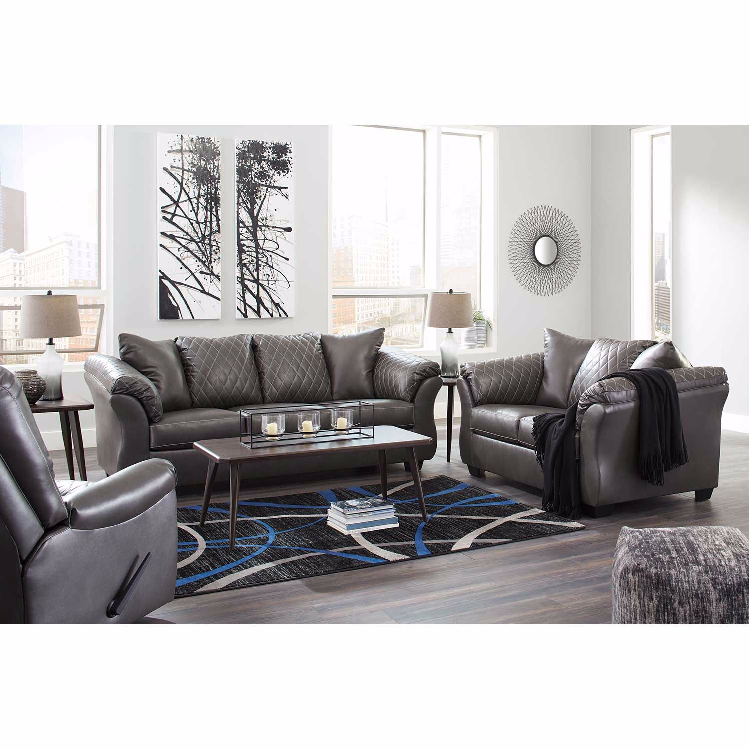 Picture of Betrillo Gray Sofa