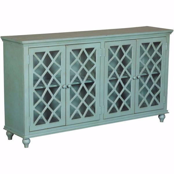 Picture of Mirimyn Teal Accent Cabinet