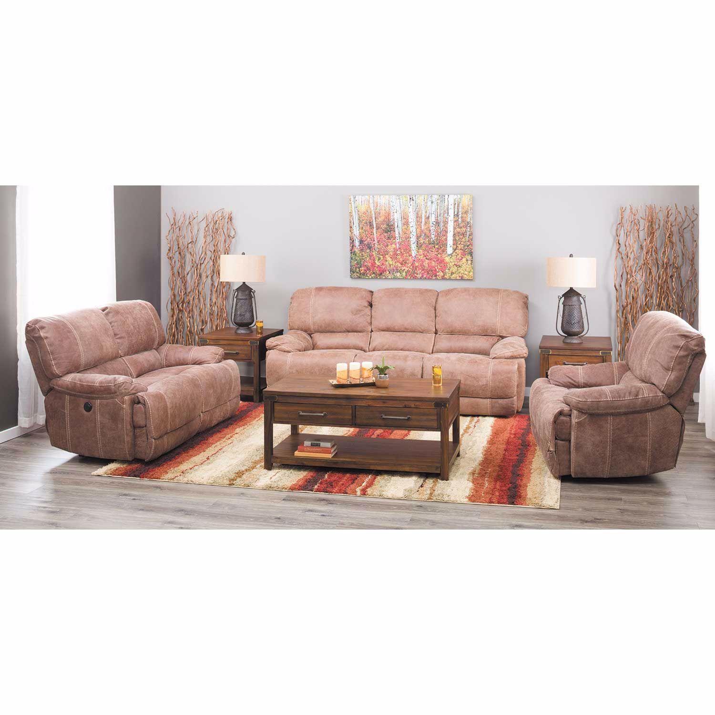 Rhet Italian All-Leather Power Reclining Sofa