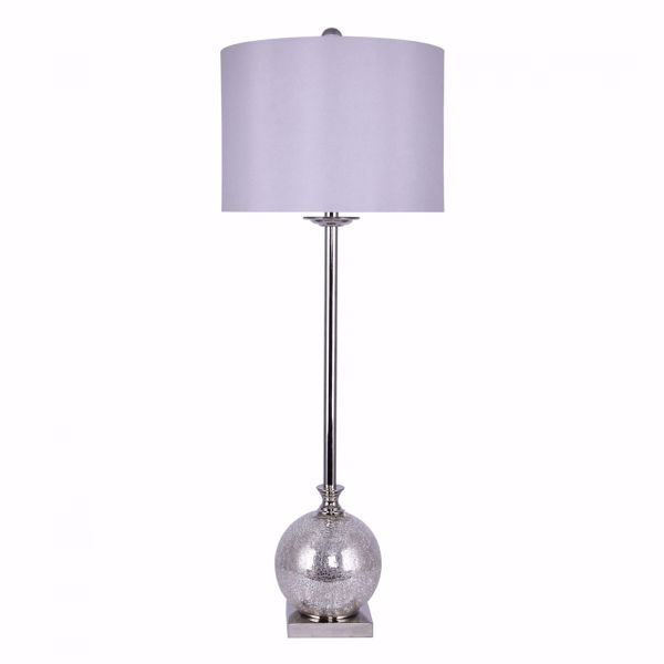 Picture of Silver Mercury Glass Buffet Lamp