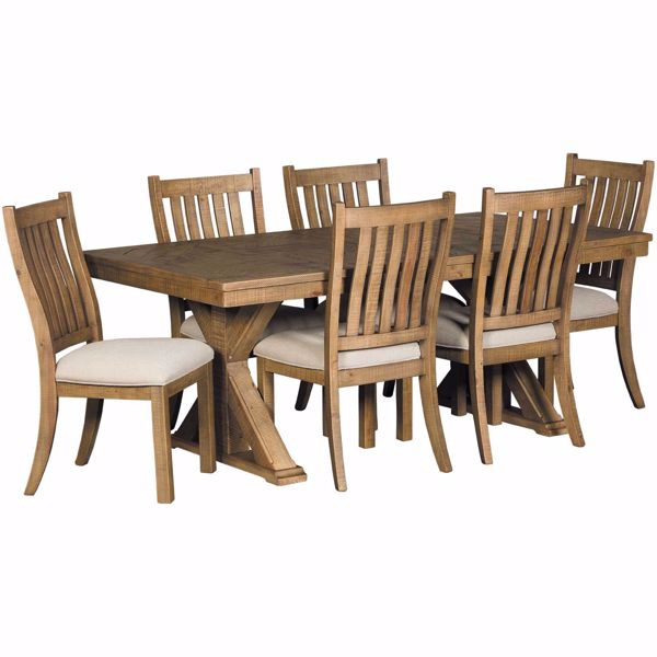 Picture of Grindleburg 7 Piece Rectangular Table Dining Set