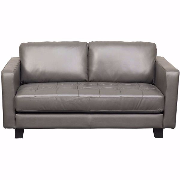 Picture of Martens Leather Loveseat
