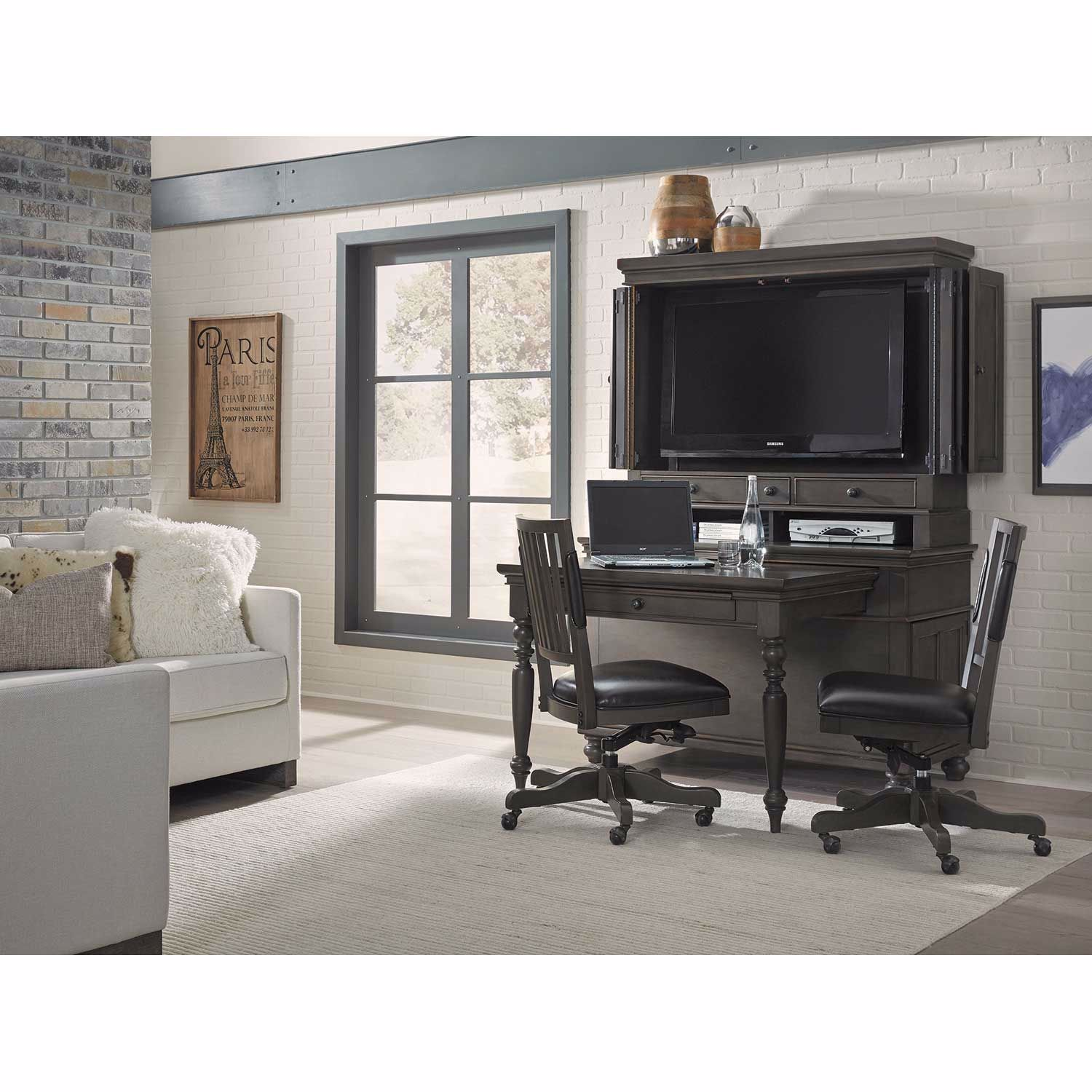 Picture of Oxford Murphy Desk, Gray