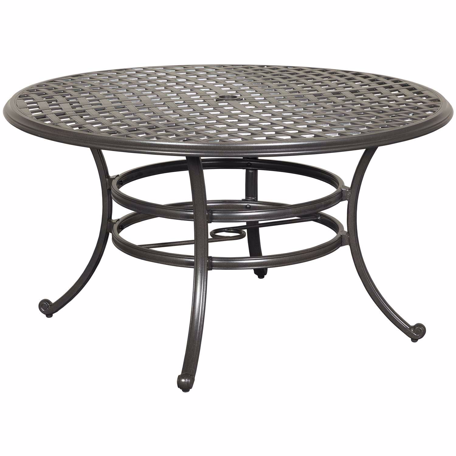 Halston 53 Round Patio Table Ld7289a 53 146 1 World Source