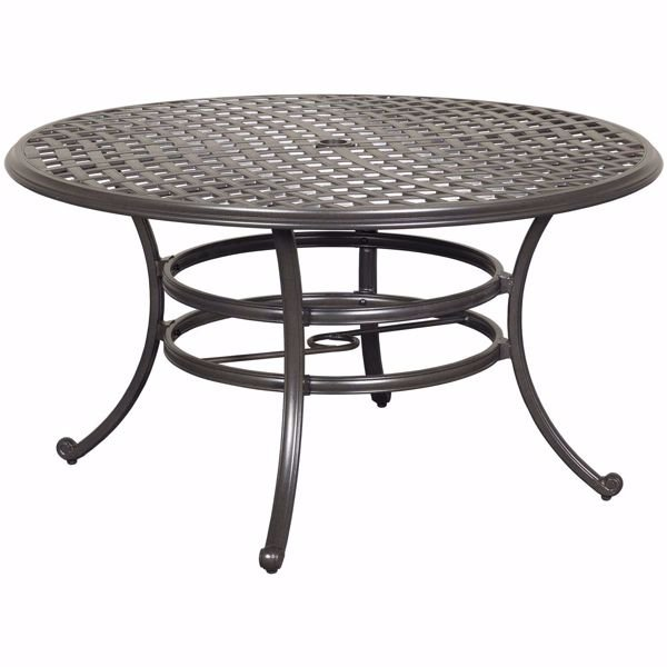 "Picture of Halston 53"" Round Patio Table"