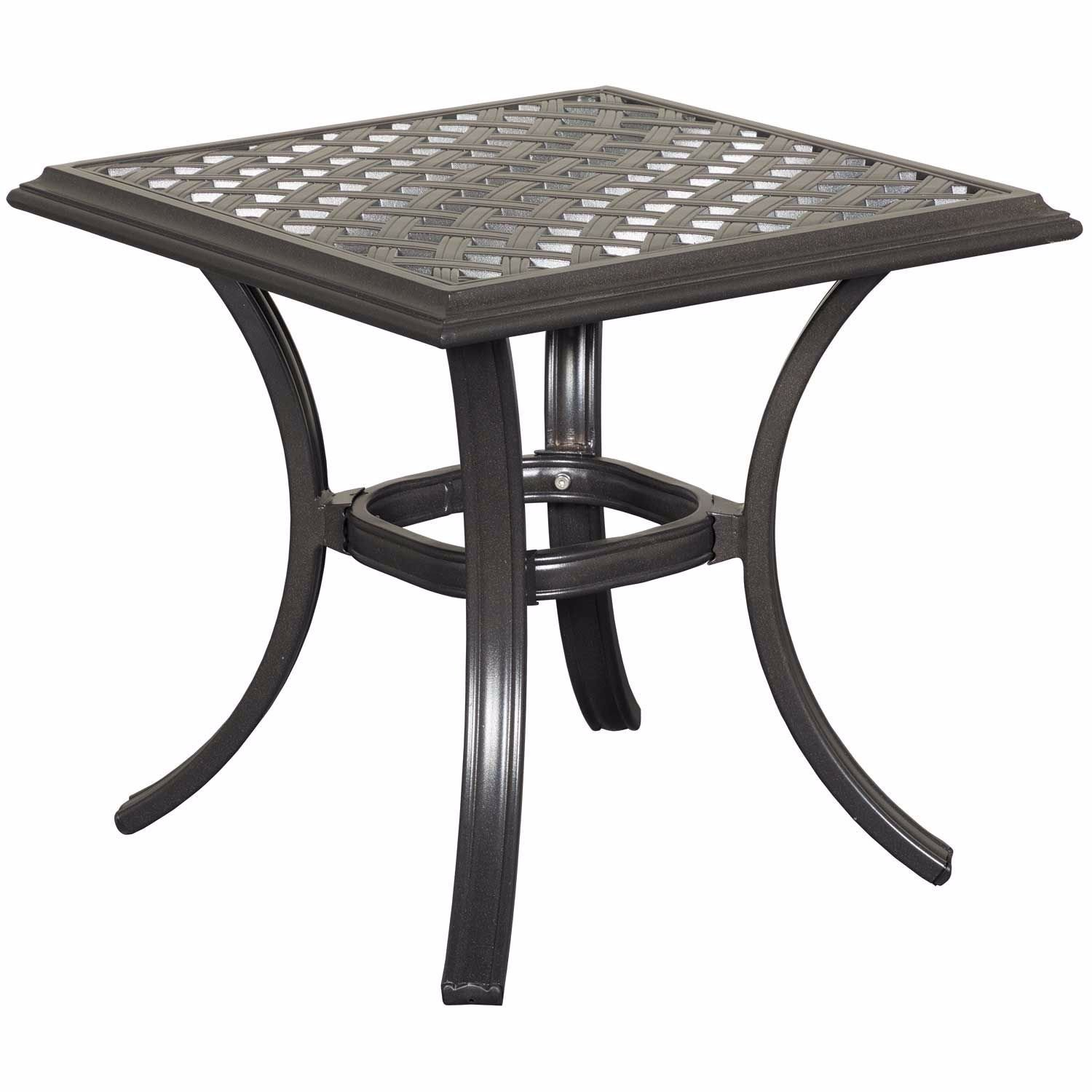 """Picture of Halston 21"""" Patio End Table"""