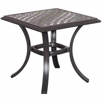 "Picture of Halston 21"" Patio End Table"