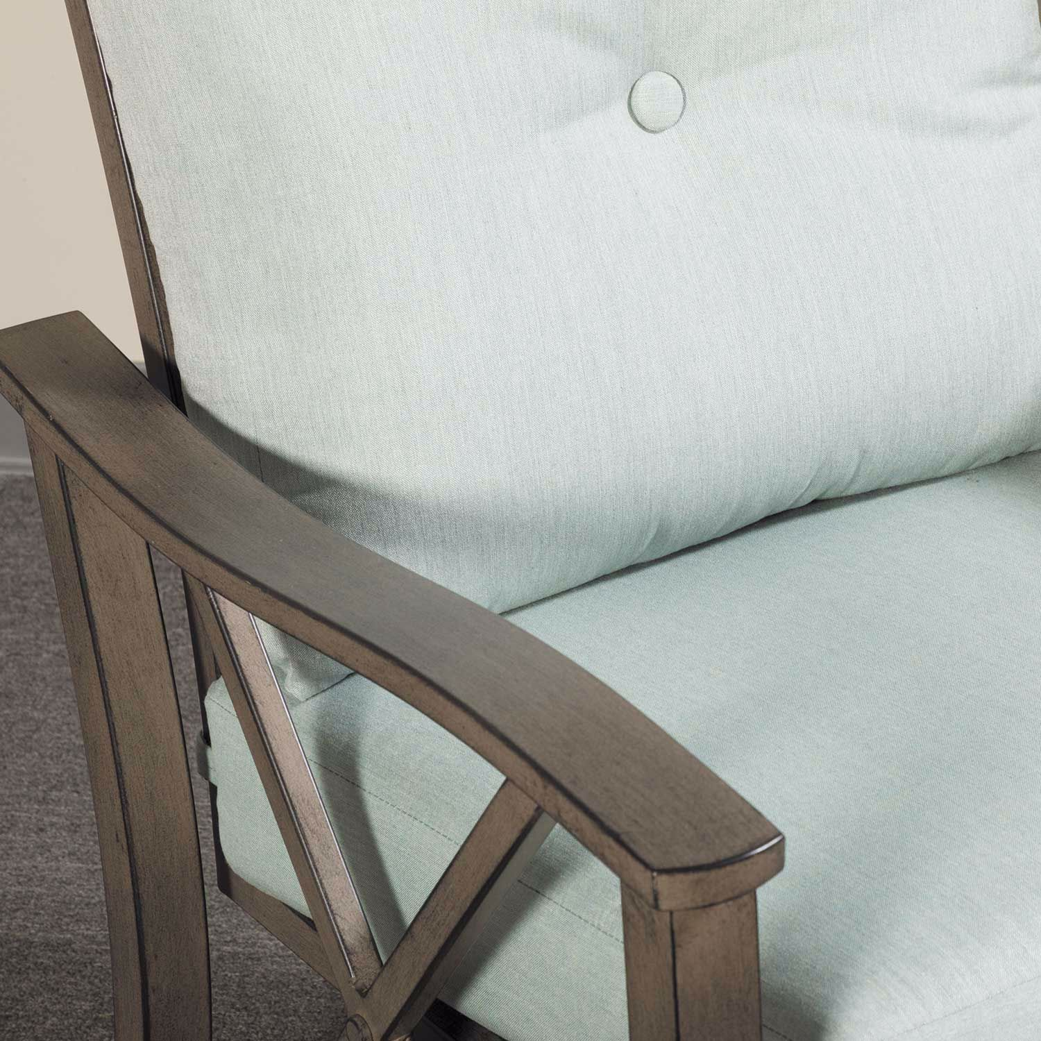 Picture of Bridgeman Outdoor Loveseat with Cushion