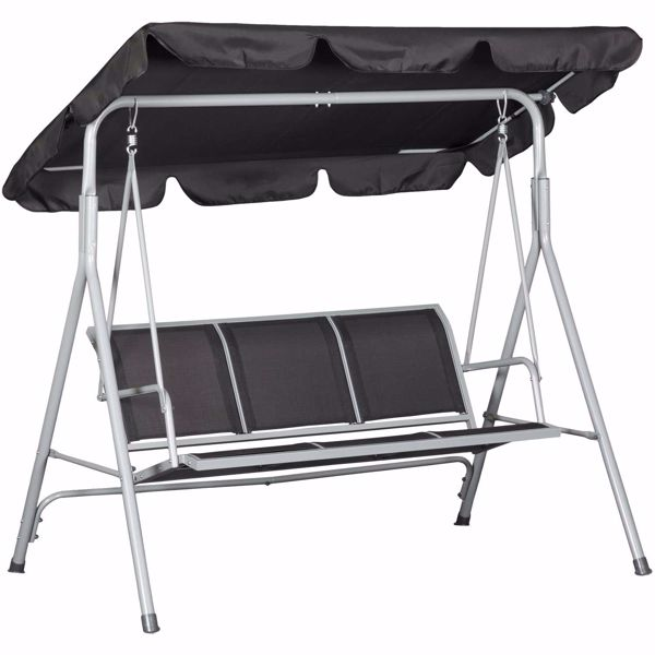 Picture of 3-Seat Sling Swing With Canopy