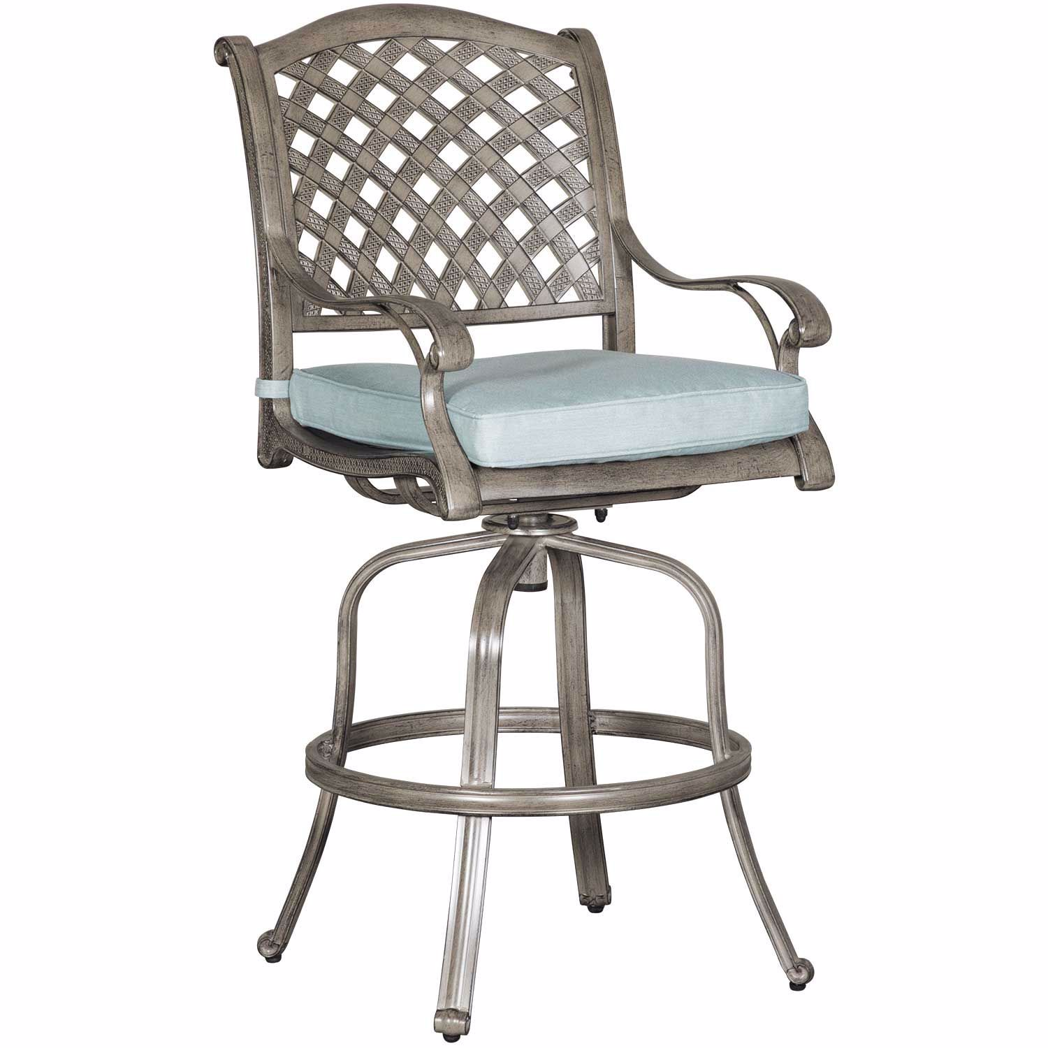 Picture of Macon Patio Barstool with Cushion