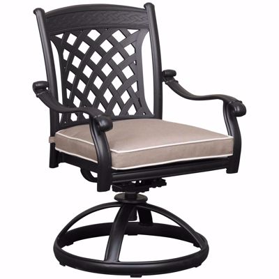 Picture of Santa Teresa Swivel Rocker with Cushion