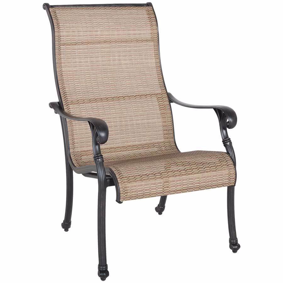 Picture Of Cast Aluminum Sling Chair