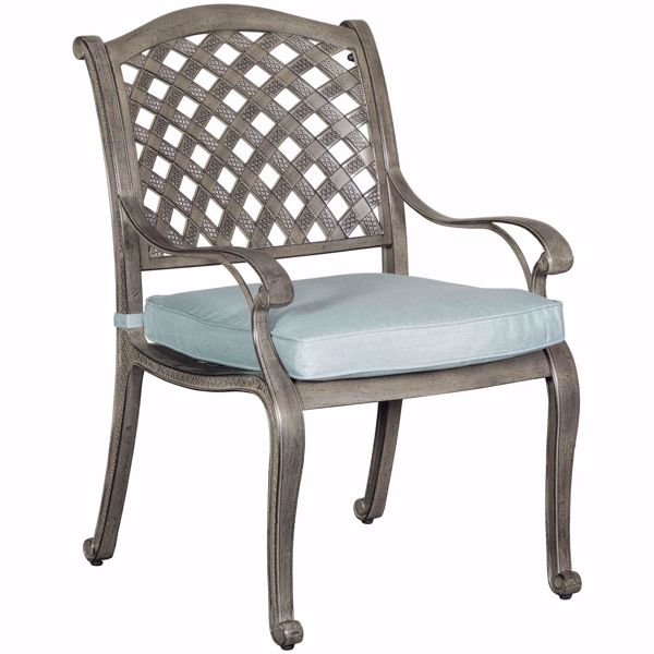 Picture of Macon Patio Dining Chair with Cushion