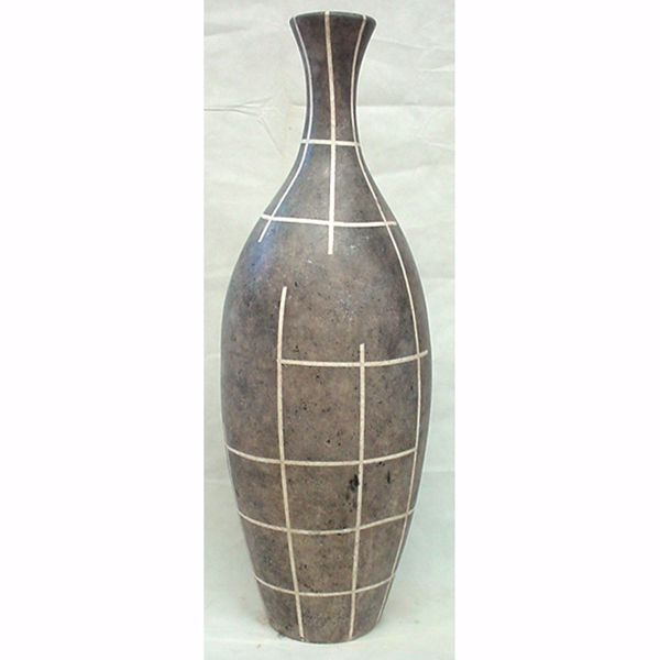 Picture of Lined Floor Vase