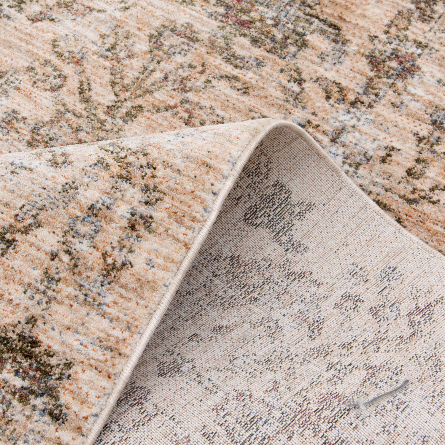 Picture of Legend Ivory Beige Distressed 8x10 Rug
