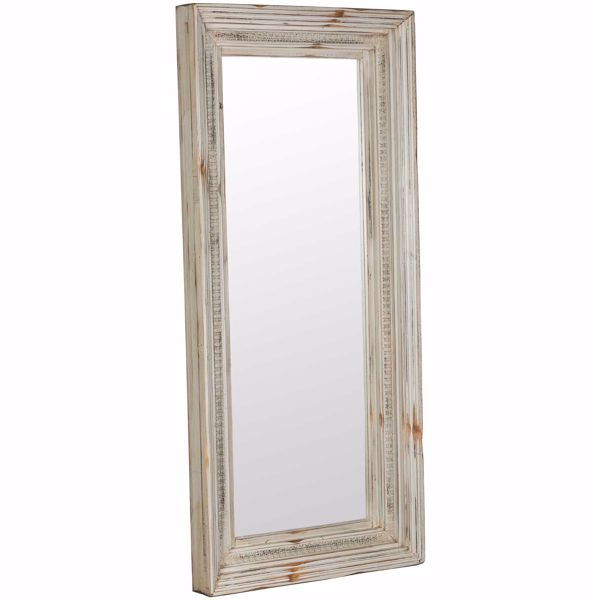 Picture of Michael Angelo Light Grey Mirror