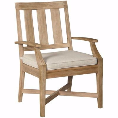 Picture of Clare View Outdoor Arm Chair with Cushion