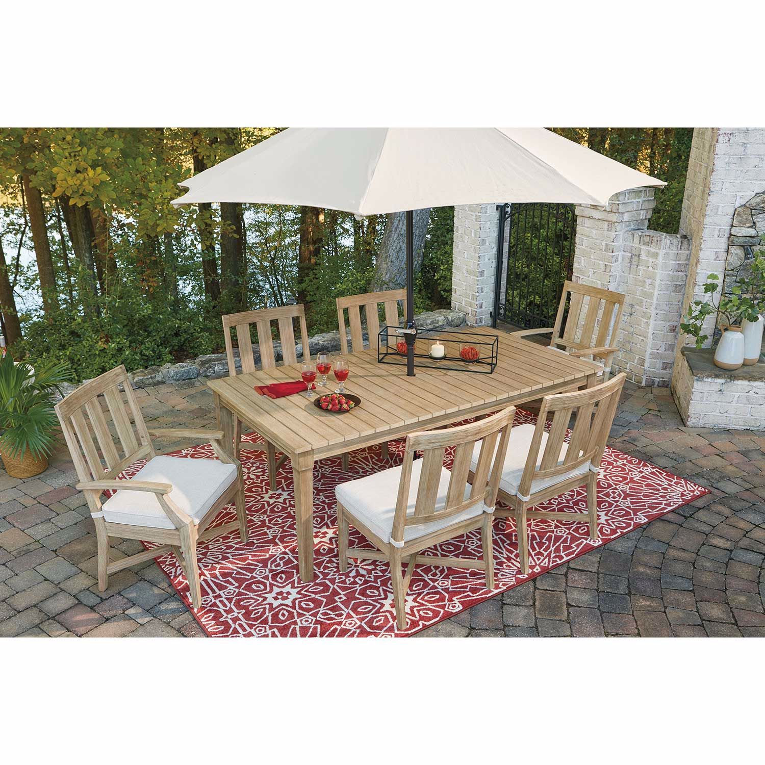 Picture of Clare View Rectangular Outdoor Table