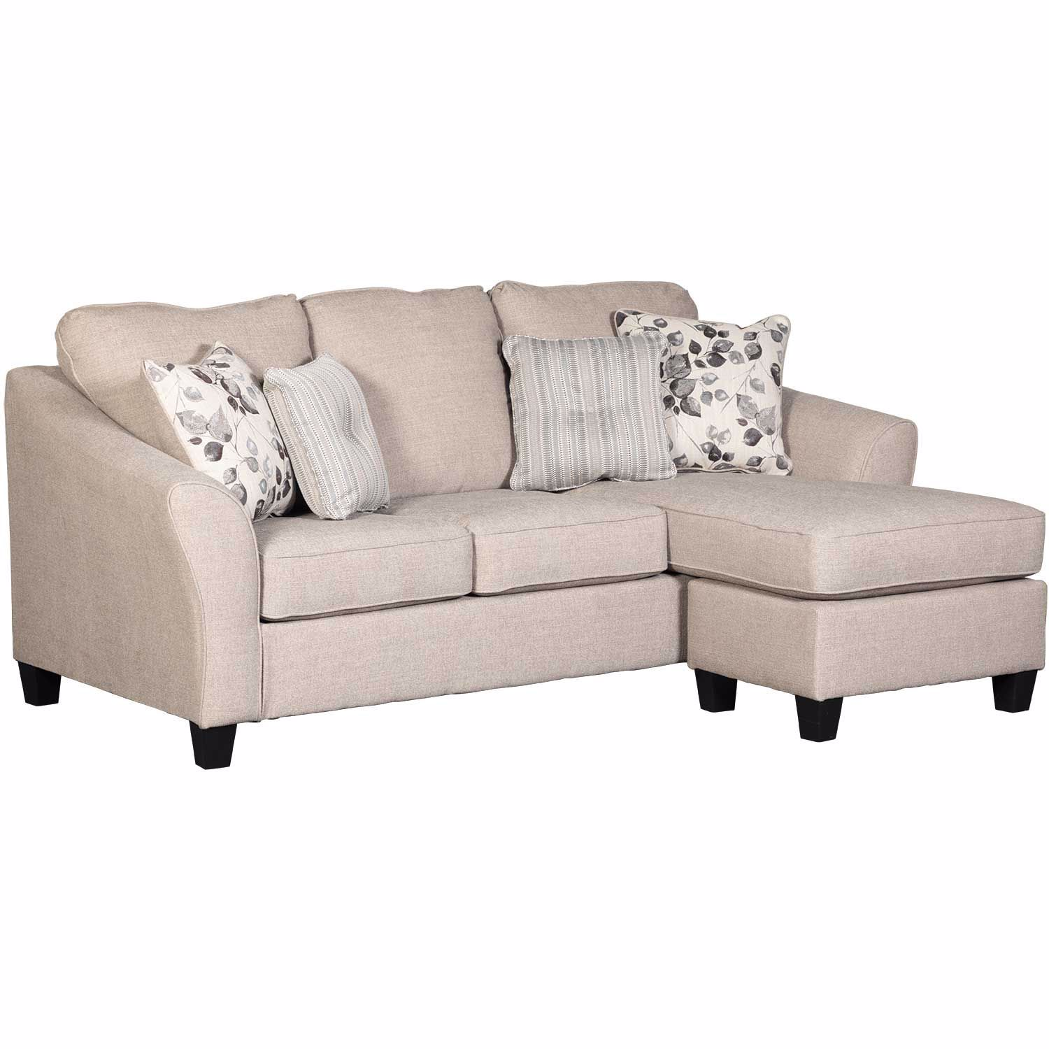 Abney Driftwood Reversible Sofa Chaise 4970118 Ashley