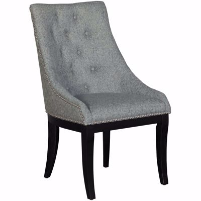 Picture of Celeste Gray Wingback Accent Chair
