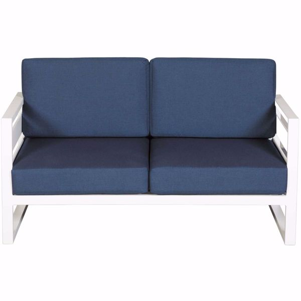 Picture of Capri Patio Loveseat with Cushion