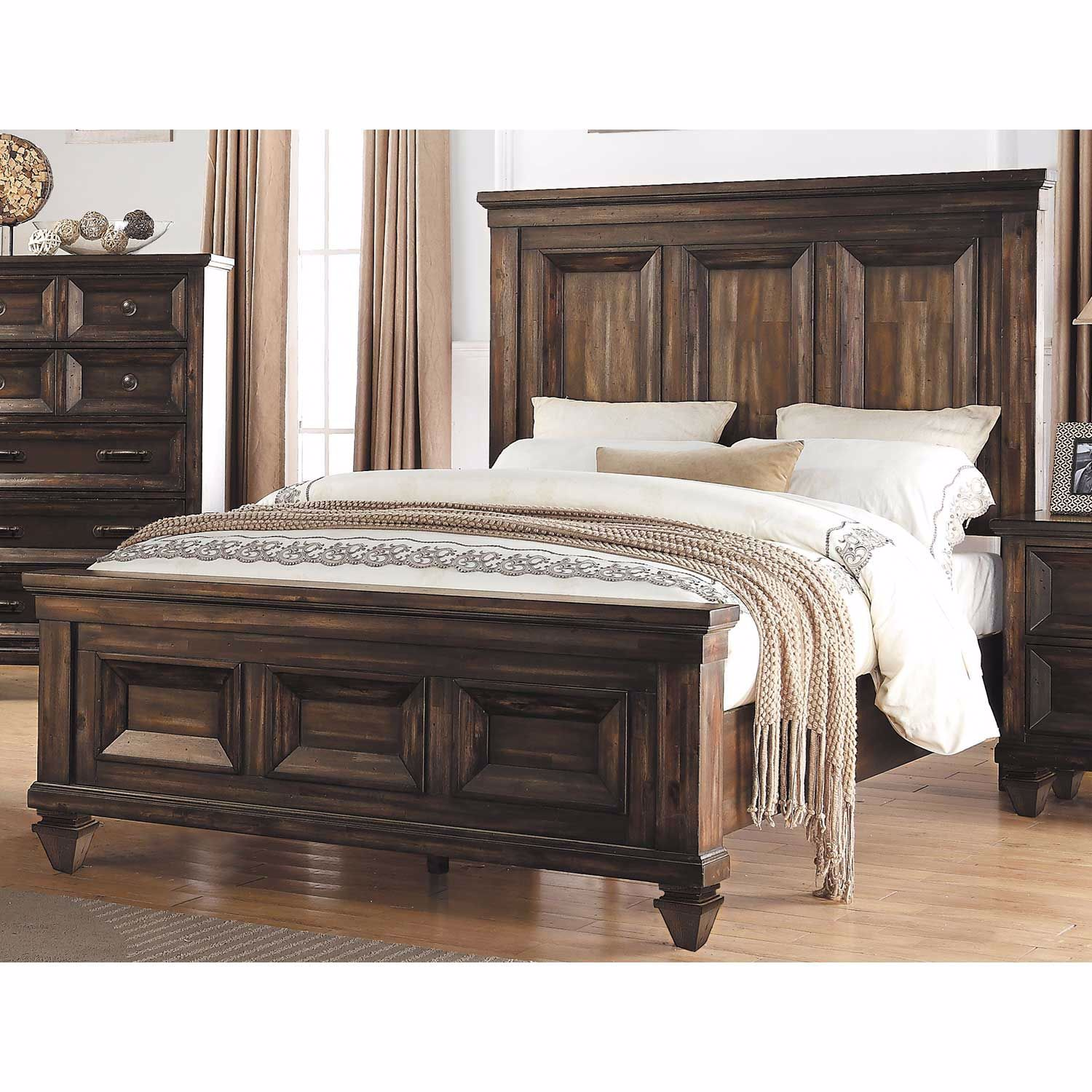Picture of Sevilla King Panel Bed