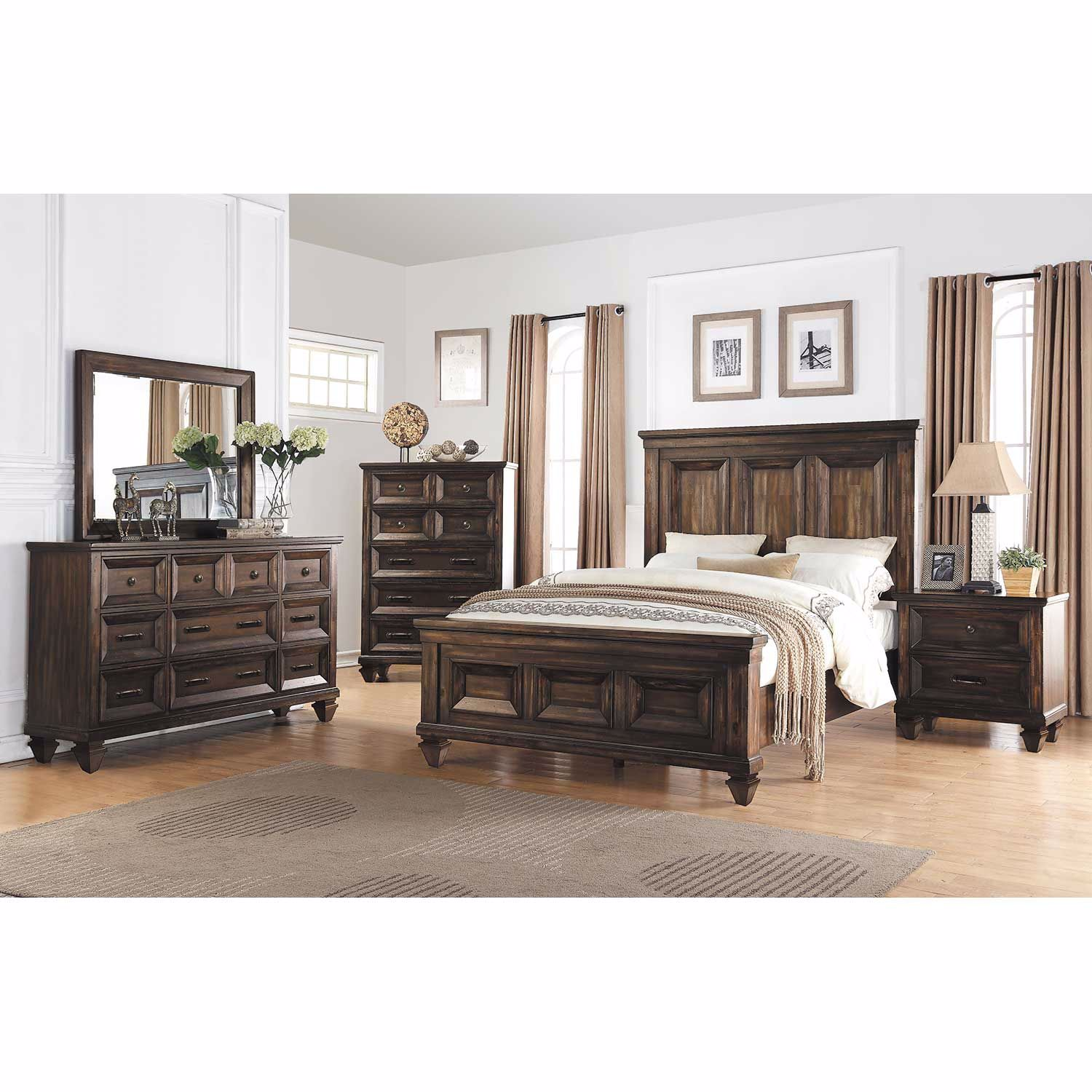 Picture of Sevilla Queen Panel Bed