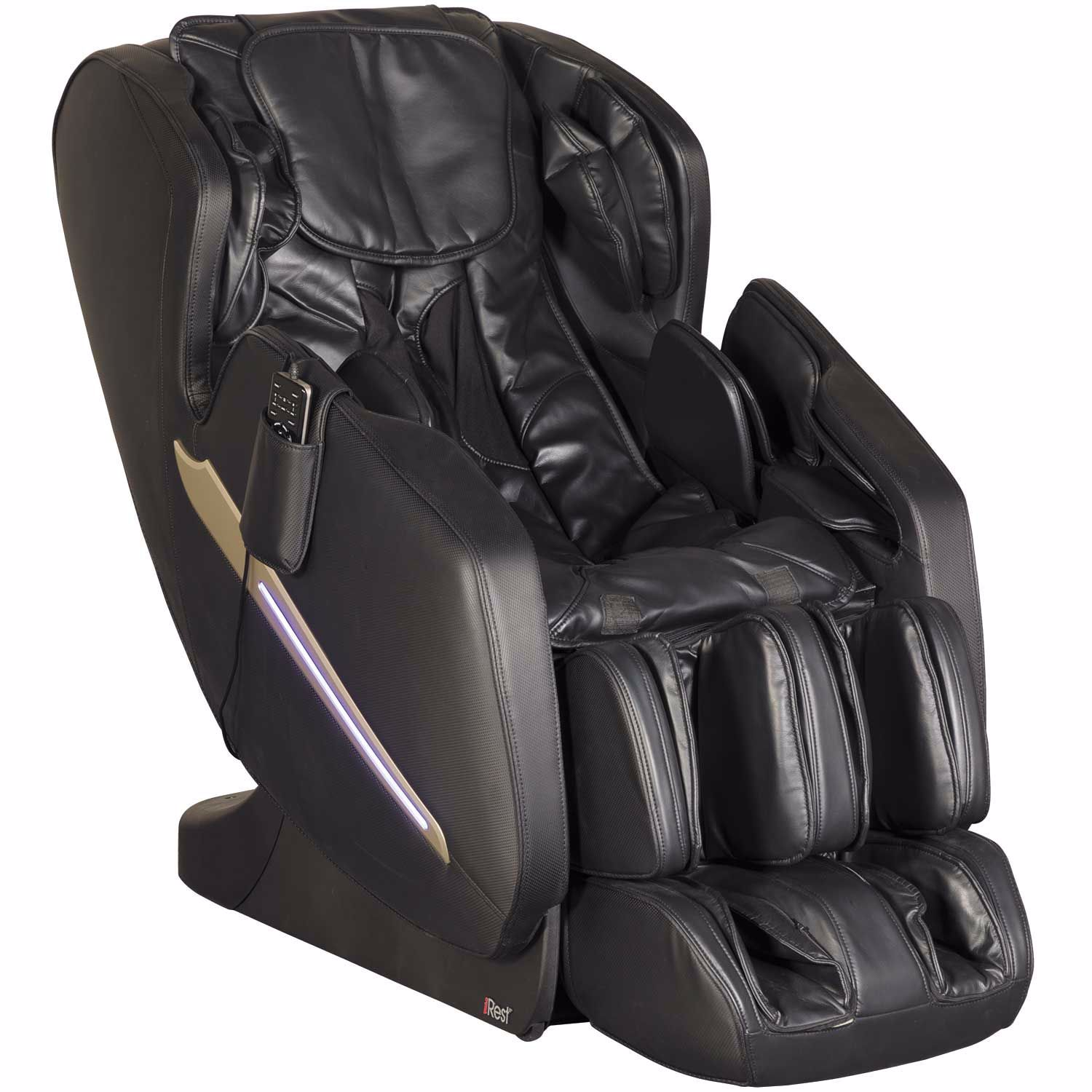 Awesome Black Heat And Massage Chair Machost Co Dining Chair Design Ideas Machostcouk