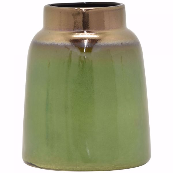 Picture of Green Gold Vase