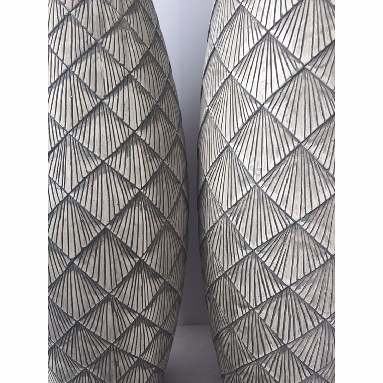Picture of Grey Tall Slim Vase